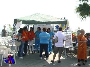 foto iniziativa misericordia in piazza
