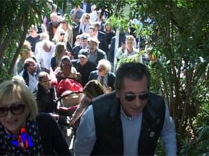 foto inaugurazione passaggio pedonale lido