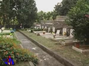 lavori al cimitero comunale