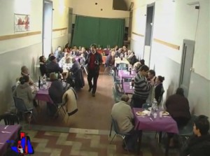 pranzo sociale caritas rotary